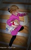 Lizzy (maureenesullivan) Tags: thanksgiving family stairs indoor lizzy 4yrs patsdoll