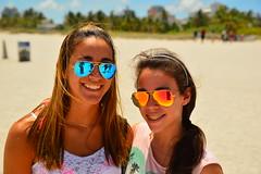 Smiles with sunglasses (radargeek) Tags: beach smile sunglasses braces florida miami smiles fl selfie