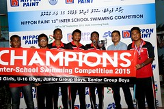 Nippon Paint 13th Inter School Swimming Competition 2015 431