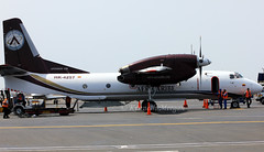 HK-4257 (Ken Meegan) Tags: lima cargo antonov 3203 an32 an32b antonovan32b aercaribe 8112014 hk4257