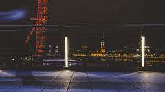 Jubilee Bridge (millerartwork) Tags: bridge houses light london clock thames night vintage river golden photo long jubilee parliament bigben images hungerford shutter streaks lukemiller mu9a7873lnd