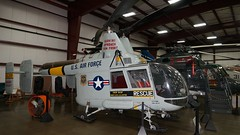 Kaman K-600 HH-43F Huskie at New England Air Museum (J.Com) Tags: new england usa museum airport aircraft aviation air ct helicopter bradley windsor locks usaf kaman huskie h43