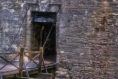 New Front Door (Art Lewis) Tags: castle history fort sony drawbridge