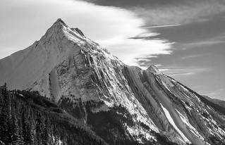 Snowy Peak - Medicine Lake