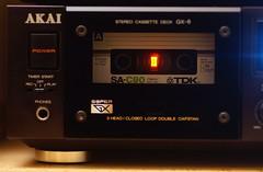 AKAI GX-6 + TDK SA-C90 (pintzu) Tags: vintage stereo tdk akai oldhifi cassettetapedeck