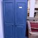 Blue tall pine wardrobe