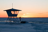 Nallikari january 2017 (tiina.harjunpaa) Tags: sunset blue sky orange colours nature clouds mothernature landscape scenery view myview winter snow ice ocean shore beach coast sea travel photo photography minmalism minimalistic canon outdoor finland oulu nallikari cabin boat lifeguard