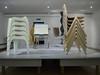 Wagenfeld-Haus_e-m10_100C308679 (Torben*) Tags: rawtherapee olympusomdem10 olympusm17mmf18 wilhelmwagenfeldhaus bremen ausstellung stapeln stacking stuehle chairs