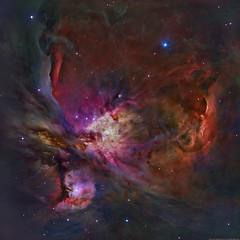 M42 - Orion Nebula (Hubble Legacy Archive) (Martin_Heigan) Tags: m42 hubble space telescope hubblelegacyarchive hst orionnebula universe astronomy physics knownuniverse nebula cosmos mhastrophoto feynman narrowband monochrome color hstpalette colour oiii sii ha pixinsight science electromagneticwavelengthoflight spectralline dso nebulosity messier42 deepskyobject processing citizenscience astrophysics light hydrogen martin heigan astroimaging fits art artistic creative astronomical colors colours wavelengthoflight fortheloveofscience postprocessing lineardata ccd messierobject ngc1976 falsecolour falsecolor stsci hla spacescience enhancedcolor spacetelescope highresolution messier ngc abstractuniverse halpha doublyionizedoxygen sulfurii oxygeniii hydrogenalpha educational haoiiisii flickrexplore astrometrydotnet:id=nova1863713 astrometrydotnet:status=solved hubbleimageprocessors