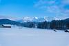 Winterlandschaft (haziri.heroid) Tags: winter snow berge schnee hütte himmel white wald wood alpen alps bayern germany lake gerold geroldsee garmisch patenkirchen january cold