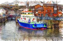 Penarth Marina (Lt Frank Drebin) Tags: harbour harbor moorings boats