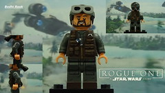 Custom LEGO SW Rogue One: Bodhi Rook (Will HR) Tags: