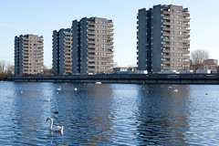 Thamesmead South Housing Estate | Woolwich to Erith-58 (Paul Dykes) Tags: eastlondon london uk england thamesmead housingestate filmlocation movielocation tvlocation misfits channel4 aclockworkorange 1971 stanleykubrick thamesmeadsouthhousingestate