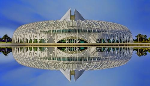 IST Building, Florida Polytechnic University, 4700 Research Way, Lakeland, Florida, USA / Architecty: Santiago Calatrava / Contruction ended: 2014
