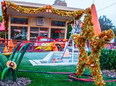 Holiday Season at the Cozy Cone Motel (Domtabon) Tags: adventure california cars christmas dca dl dlr disney disneyland disneylandresort holidays mousewait pixar