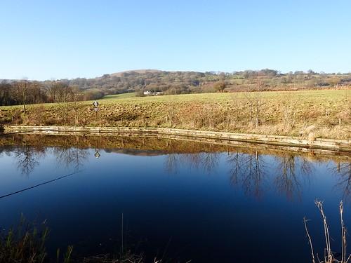 Bevan's Lane Marina, Monmouthshire-Brecon Canal, Pontrhydyrun, Pontnewydd, Cwmbran 28 December 2016