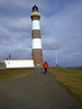 North Ronaldsay Lighthouse, Orkney in 2006 (nz_willowherb) Tags: scotland orkney northronadsay lighthouse