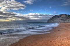 The Dorset coast near Seatown (Baz Richardson (catching up again!)) Tags: dorset coast goldencap cliffs beaches shinglebeaches