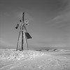 Broken Windmill, Washington (austin granger) Tags: windmill broken washington palouse winter snow decay impermanence ice evidence correspondence farm field fallow farmer rural square film gf670 forlorn useless