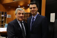 Political Assembly, 23-24 January 2017 (More pictures and videos: connect@epp.eu) Tags: antonio tajani forza italia italy president european parliament epp political assembly 2017 peoples party lulzim basha pd albania vice