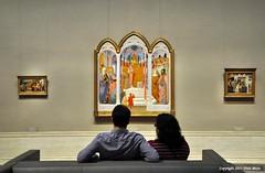 Art Lovers (Trish Mayo) Tags: art paintings nationalgallery washington dc gallery