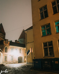 66-9069 (qauqe) Tags: vsco vscocam portra lightroom photography night time black white graffiti street urban old town tallinn estonia car vintage retro lights flare bokeh architecture tribe archipelago lxc kevin klein kln presets panorama