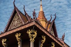 20161228 Cambodia 05085 2 (R H Kamen) Tags: buddhist cambodia cambodianculture indochina rivermekong southeastasia templebuilding architcture buildingexterior builtstructure pagoda rhkamen roof