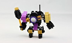Grand Wazir (Deltassius) Tags: mech mecha frame robot hardsuit lego space war military mobile zero magnifying glass microscale