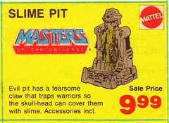 1970's / Carter Years - Masters of the Universe Slime Pit (ramalama_22) Tags: 1970 jimmy carter toy slime pit claw trap ooze gross warrier skull head evil snot monster birthday present gift squeeze nose alien dissection kit disgusting purple internal organ body mattel rosecrans hawthorne california high rise i405 san diego freeway stopped traffic moco real estate commuter deformed