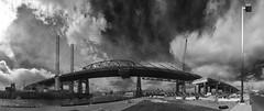 US-NY Queens - Kosciuszko Bridge IR 2017-03-04 (N-Blueion) Tags: