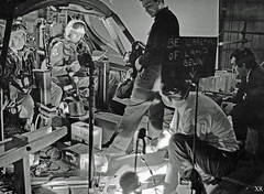 1964 ... making 'Dr. Stanglove' (x-ray delta one) Tags: jamesvaughanphoto sac propaganda populuxe nuclear kiloton atomic airtoair aircraft aerospace atomicairplane atomicannihilation hydrogenbomb atomicbomb strategicaircommand departmentenergy nucleardeterent worldwar3