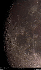 The Moon (alastair.woodward) Tags: uk sky moon black night stars outside background derbyshire astrophotography goto pro astronomy kepler derby tycho skywatcher 150p qhy5liic