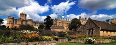 Christchurch ,Oxford (gillybooze (David)) Tags: sky building church weather architecture clouds oxford vista panarama ©allrightsreserved