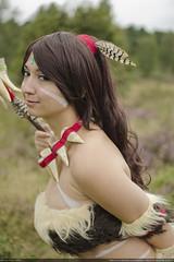 _DSC2349 (Kees Peters) Tags: cosplay lol legends league 2014 nidalee