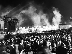 Main Stage (Mr Exploding) Tags: music monochrome festival event isleofwight vignette musicfestival bestival mainstage robinhill summeroflove 2015 thechemicalbrothers downend robinhillcountrypark vignetteforandroid stardustfield