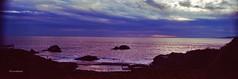 A moment in San Francisco #222-Old Bath House and Seal Rocks view 5 (Oscardaman) Tags: panoramics aerochrome landsendsanfrancisco infraredektachrome aerochromeinfrared