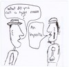 What Do You Call a Fake Noodle? (Alan Mays) Tags: ephemera drawings founddrawings doodles cartoons paper fakenoodles fakes noodles impasta imposters questions speechbubbles speechballoons thoughtballoons illustrations wordplay puns jokes riddles jokeriddles puzzles humor humorous funny amusing silly goofy 2015 2010s