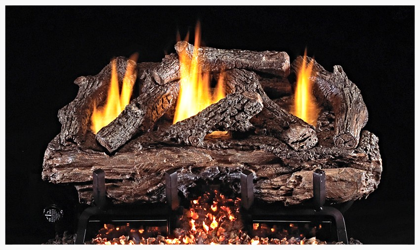 Real Fyre G-10 Unvented Split Oak Gas Log Set