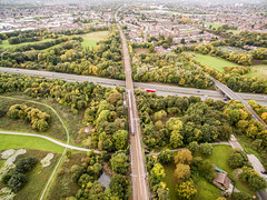 Whiston Park (sammys gallery) Tags: park merseyside whiston phantom3