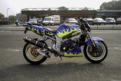 Gary Rothwell Suzuki GSXR1000 (Betapix) Tags: liverpool gary suzuki tt rider isleofman stunt stunts gsxr rothwell iom scouser wheelies stuntrider stoppies garyrothwell