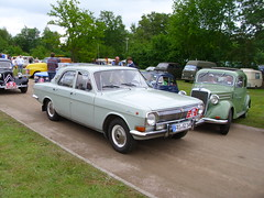 GAZ M24 (Zappadong) Tags: auto classic car automobile gaz voiture coche classics oldtimer oldie carshow youngtimer automobil 2015 bockhorn m24 oldtimertreffen zappadong