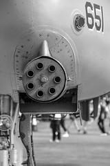 """The shooty bit"" - 78-0651 A-10C Thunderbolt 2 DM (Bob the Binman) Tags: nikon gun display aviation military gloucestershire usaf raf warthog a10 fairford gattling riat royalinternationalairtattoo d7100 riat2015"