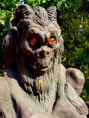 P1000619.edit1 (tcelli) Tags: statue gargoyle macabre grotesque panasoniczs3