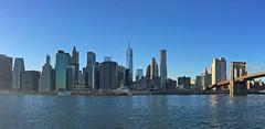 Downtown Manhattan Skyline (bhotchkies) Tags: usa newyork skyline manhattan brooklynbridge manhattanskyline