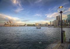 Sydney Harbour (palashmitter) Tags: seascape landscape bay harbour horizon sydney australia wharf nsw newsouthwales hdr highdynamicrange sydneyharbour sydneyoperahouse