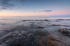 Low Hauxley (Callaghan69) Tags: longexposure sunset lighthouse seascape beach landscape island coast wideangle northumberland coastal northsea coastline amble coquetisland ukbeaches nikond810 lowhauxley tokina1735mmf4atxprofx