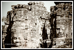 Angkor Thom - Buddha Rockface2 (calamur) Tags: architecture cambodia buddhist religion temples siemreap buddhisttemple angkorthom harinicalamur nikond7000