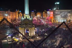 6 hours before bloody crackdown of students (kirilko) Tags: students 35mm lights fuji protest ukraine revolution kiev kyiv  maidan     2013 finepixx100 fujifinepixx100 euromaidan