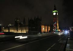 Projection of Poppies onto Elizabeth Tower (UK Parliament) Tags: uk london bigben remembrancesunday bigbenpoppies