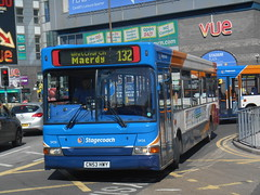 Stagecoach in South Wales 34511 (welsh bus 16) Tags: southwales cardiff dennis dart stagecoach slf 34511 cn53hwy